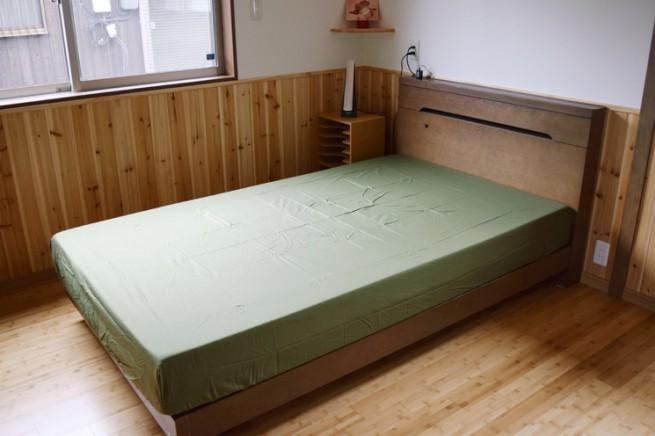 【納品事例】愛媛県新居浜市O様邸【初めてのベッド生活】