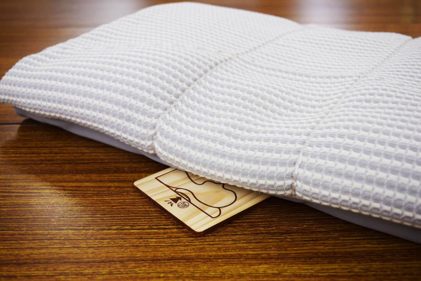 【今治市・O様】オーダーメイド枕で肩や首の湿布要らずになった!