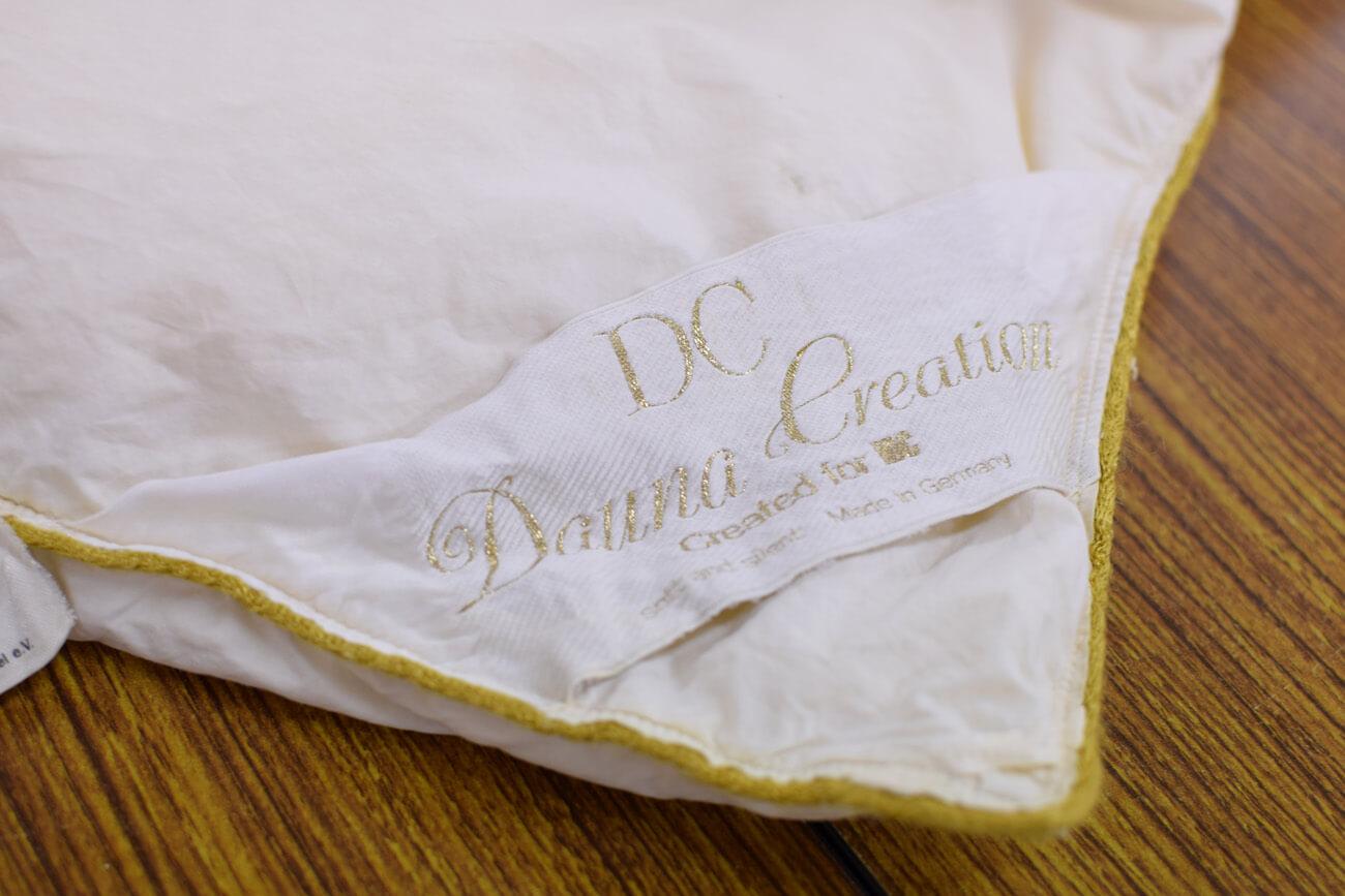 大塚家具の高級羽毛布団『ダウナ』を綺麗にリフォーム