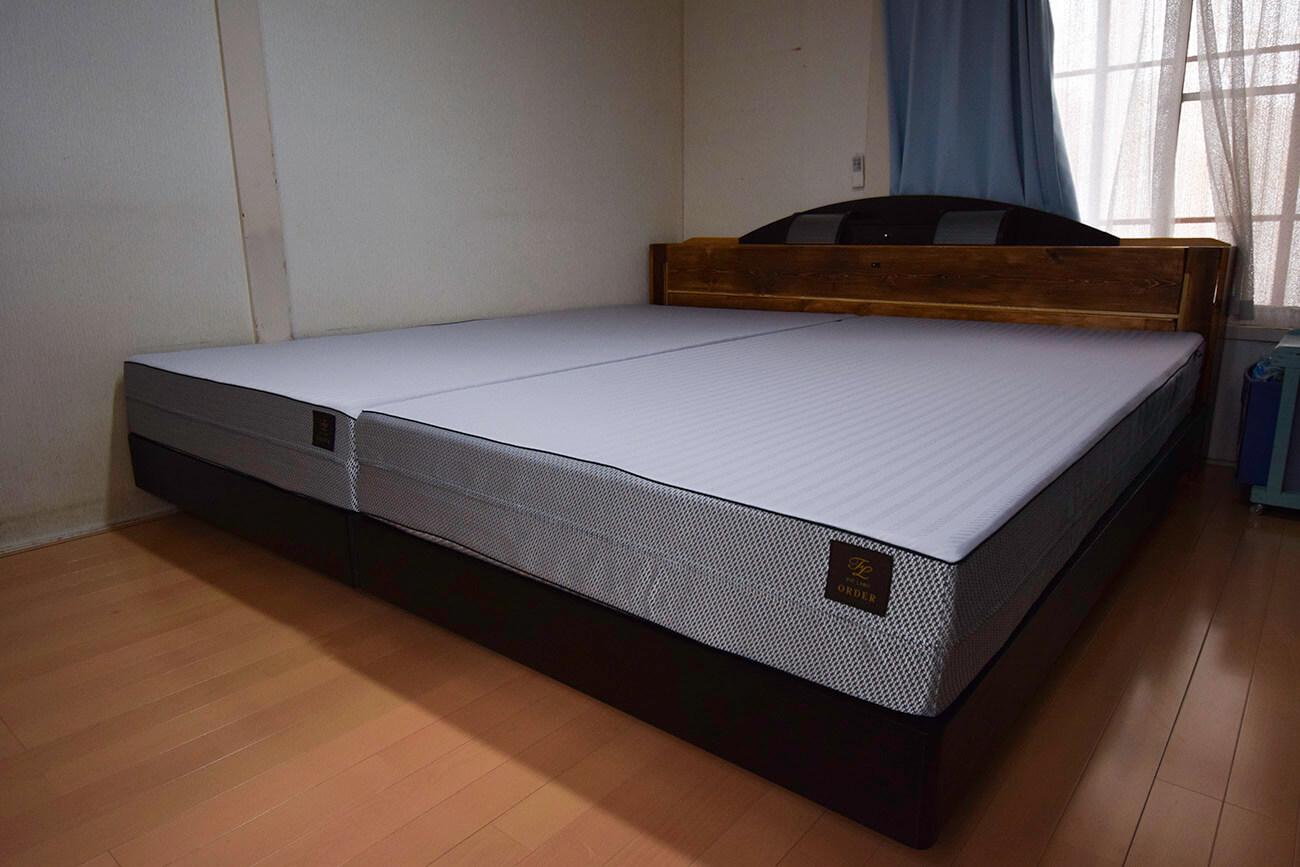 【納品事例】松山市・Y様/オーダーメイドマットレスで自分にぴったりの寝心地を。
