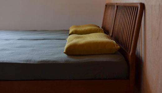 【納品事例】松山市・O様邸/より良い寝心地を求めて枕・ベッドマットレスを。