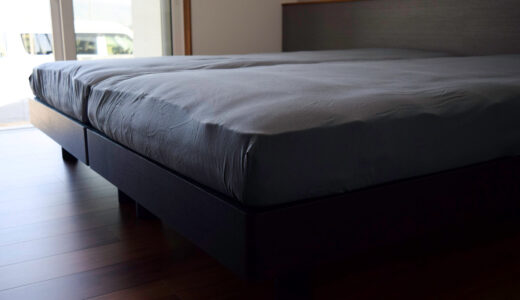 【納品事例】松山市・O様/新しい空間での生活がスタートするご夫婦のためのベッド